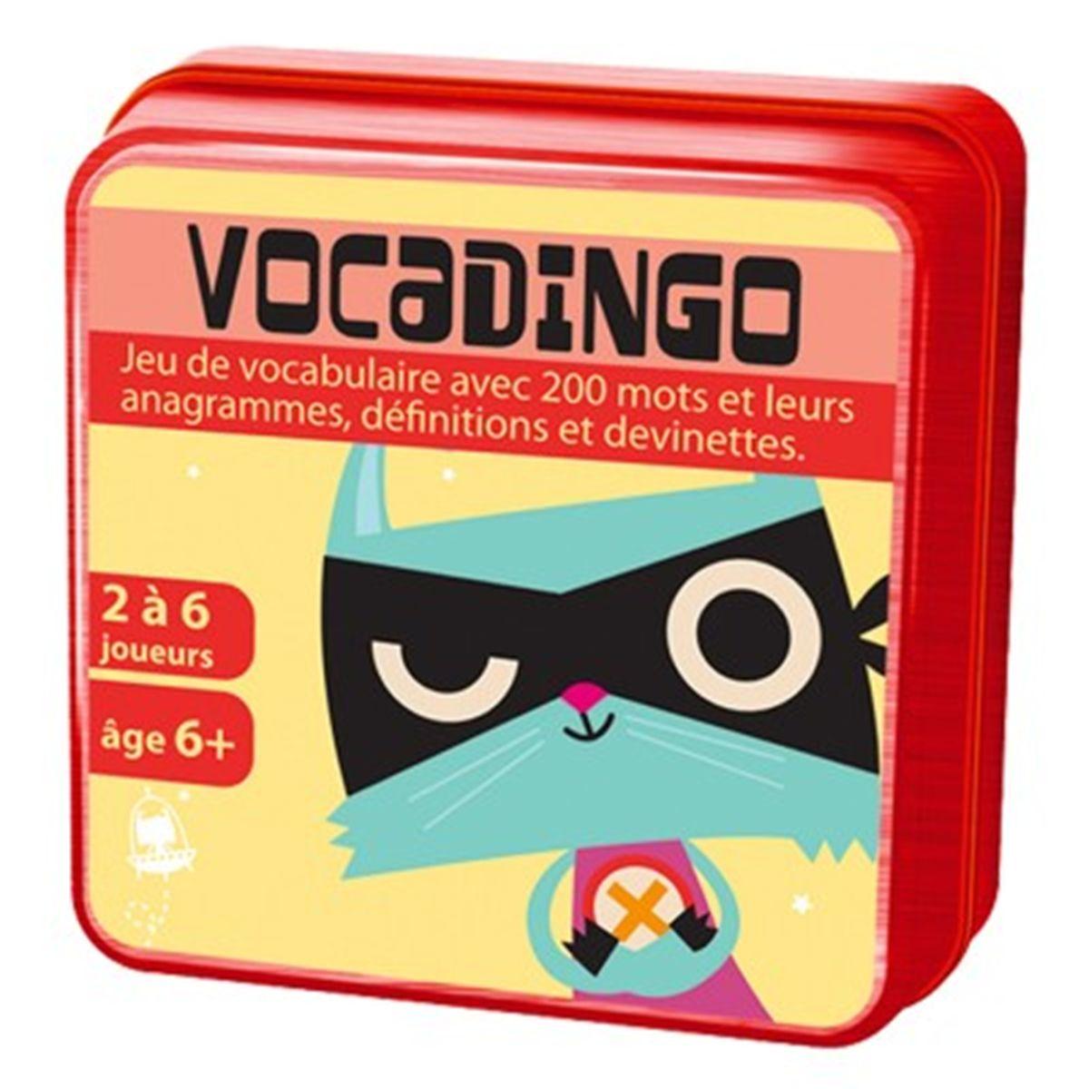 Vocadingo - Jeux De Société Et Puzzles - La Grande Récré avec Jeux Anagramme Gratuit A Telecharger