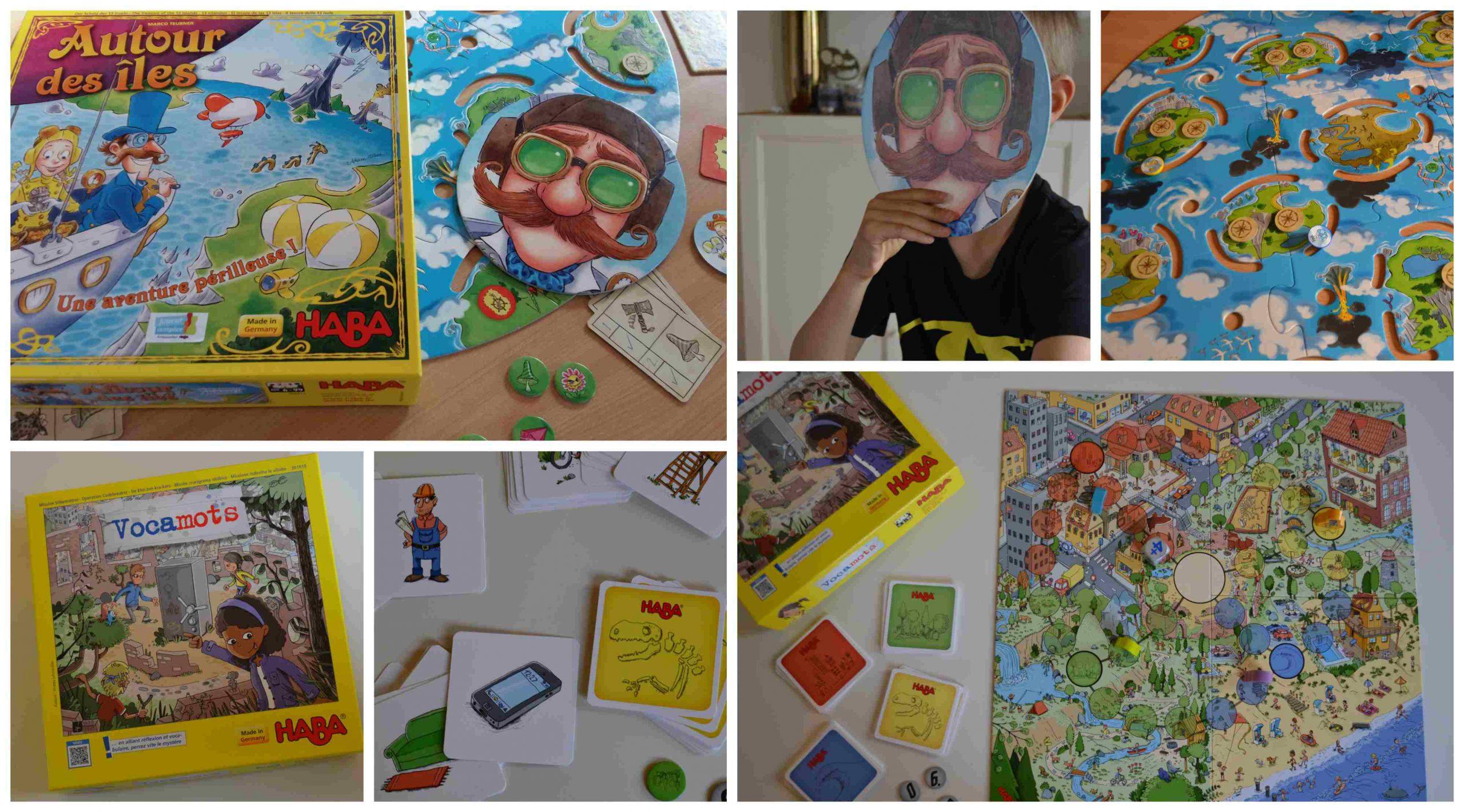 Vocamots & Autour Des Îles : Des Jeux Haba Pour Les 5-7 Ans dedans Jeux Enfant 7 Ans