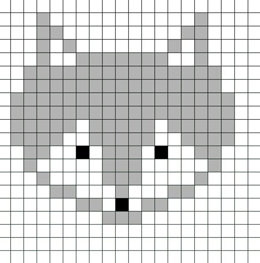Voici Le Pixel Art Du Renard Illustré En Vidéo Sur Ma Chaîne à Pixel A Colorier