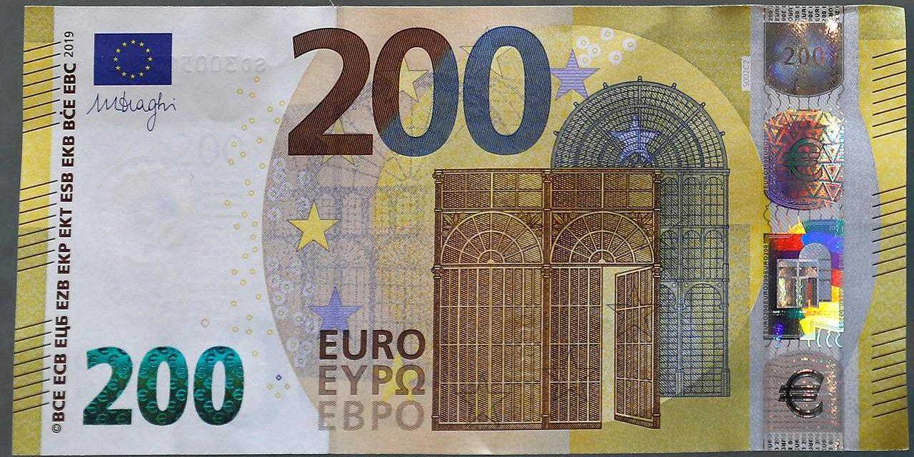 Voici Les Nouveaux Billets De 100 Et 200 € - Dh Les Sports+ tout Billet Euro A Imprimer