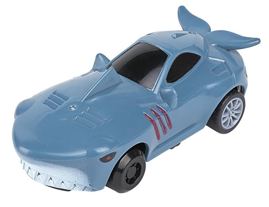 Voiture Animal Imprimé Requin Pull-Back 8,5 Cm Bleu Clair encequiconcerne Voiture Requin Jouet