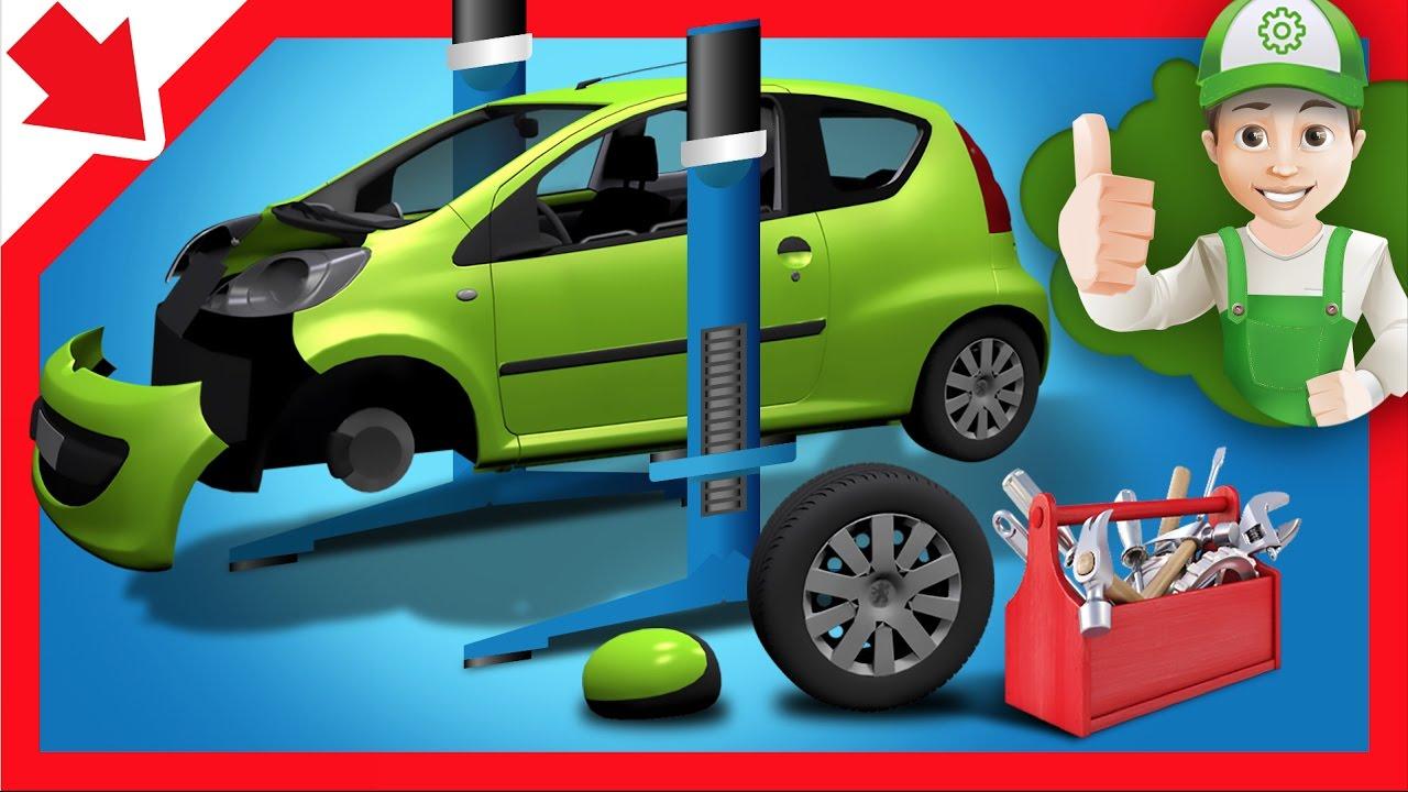 Voiture Dessin Animé Bébé Voiture Pour Enfant Jouet Voiture Enfant Voiture  Petite Automobile Dessin pour Jouet Pour Voiture Bébé