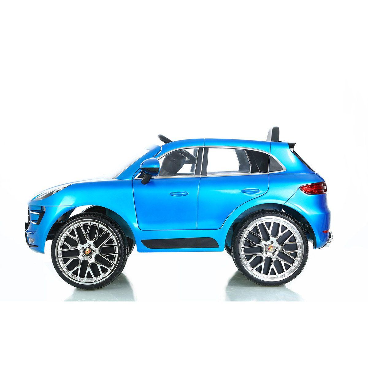 Voiture Électrique Suv Porsche Macan Turbo - Sport Et Jeux D intérieur Mini Jeux De Voiture