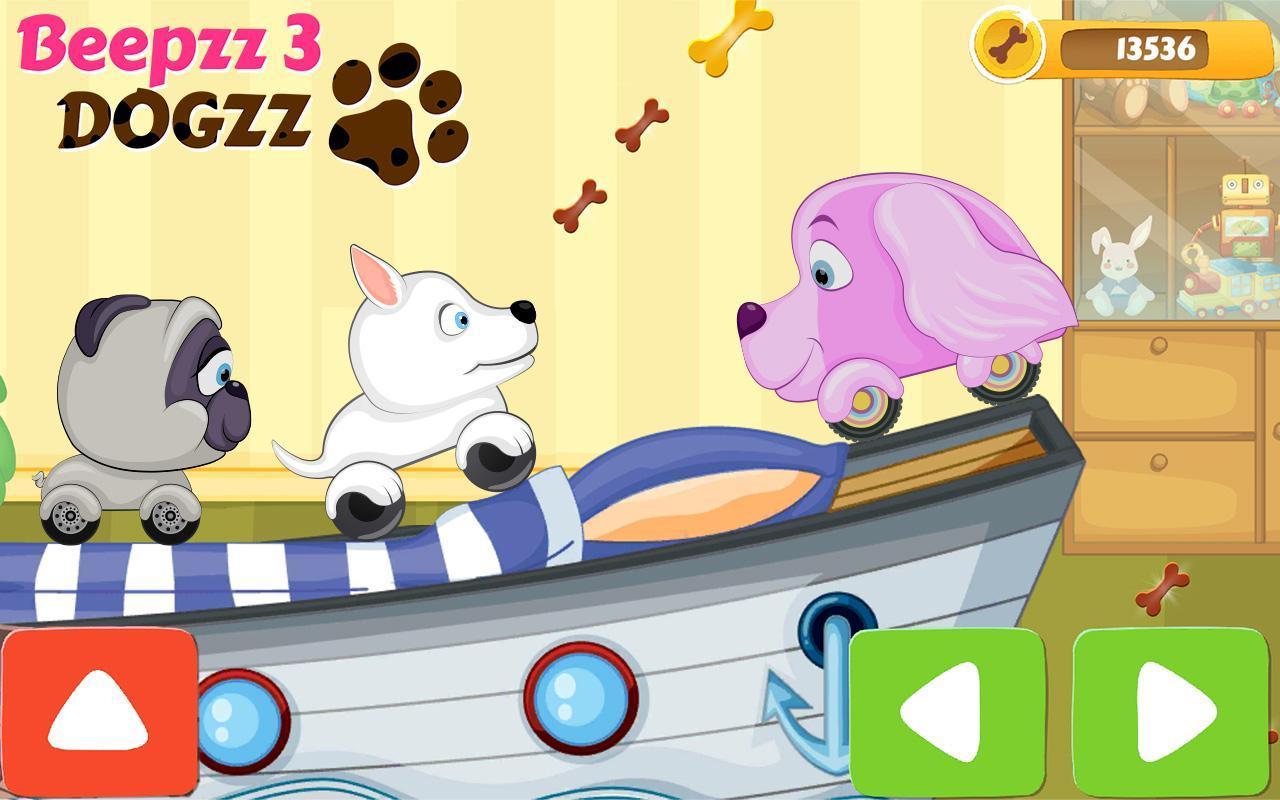 Voiture Jeu De Course Pour Enfants - Beepzz Chiens Pour avec Jeux De Course Pour Enfants