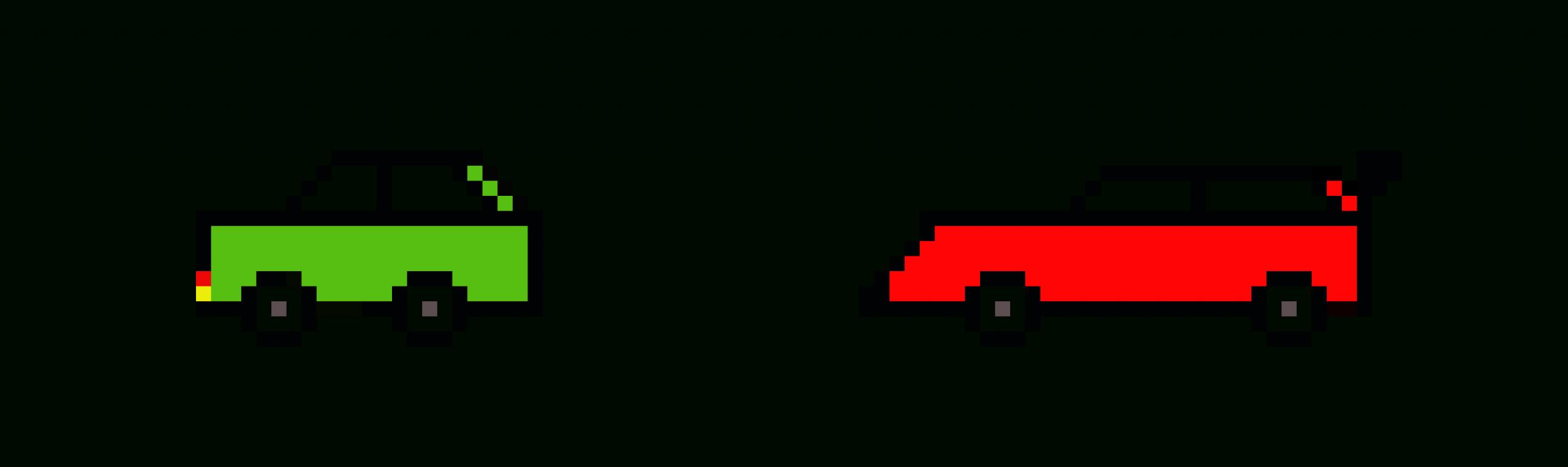 Voiture Jeu | Pixel Art Maker dedans Voiture Pixel Art