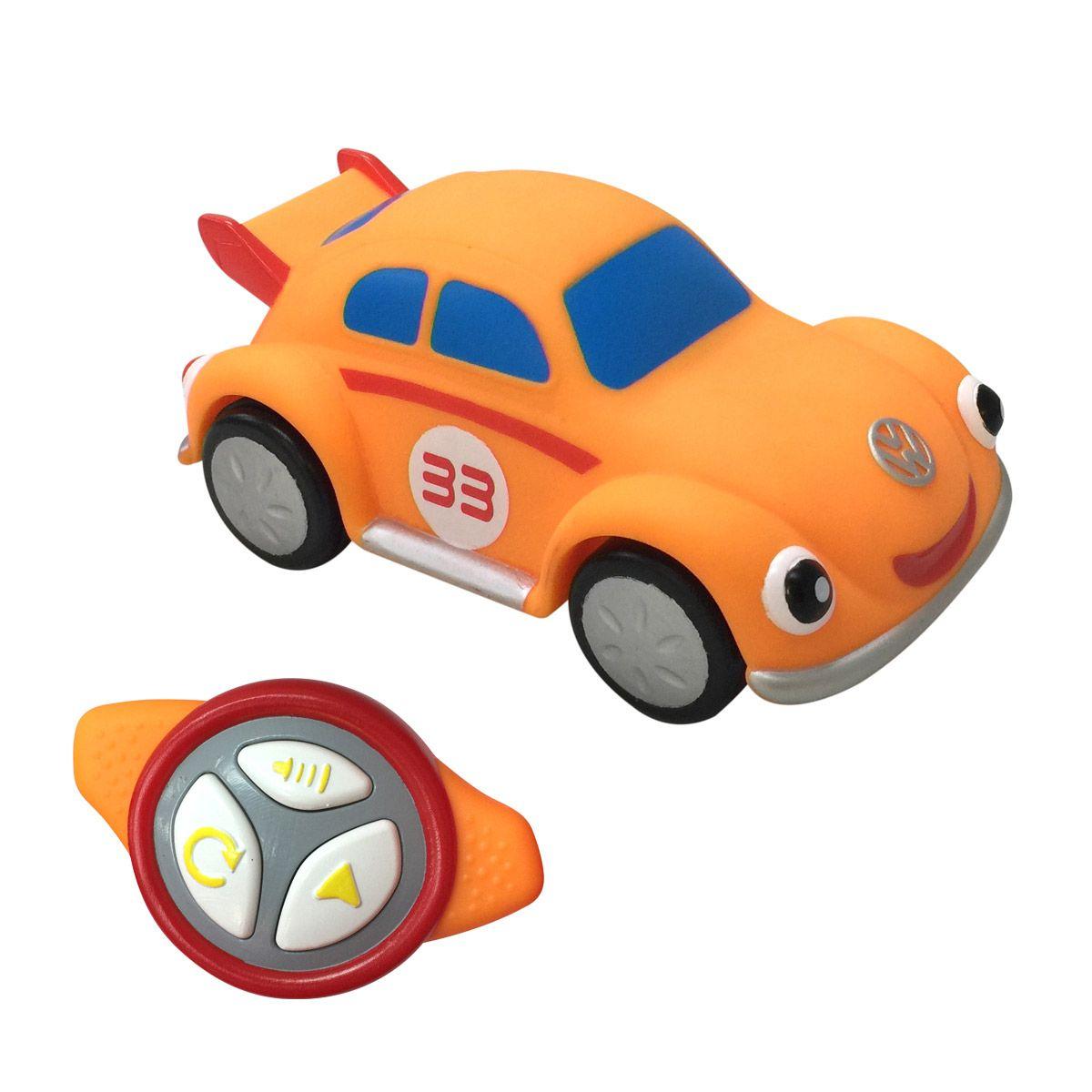 Voiture Souple Radiocommandée Orange Motor Town Pour Enfant destiné Jeux De Voiture Pour Petit
