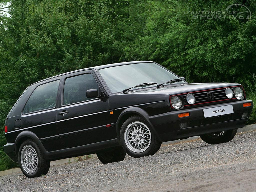 Volkswagen Golf (2) Gti (1984-1991) - Guide Occasion avec Puissance 4 A Deux