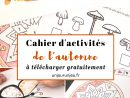 Votre Cahier D'activités De L'automne À Télécharger intérieur Cahier De Vacances Maternelle Gratuit A Imprimer