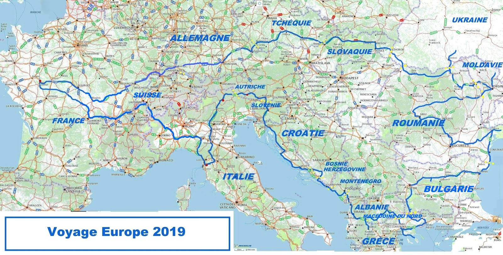 Voyager  Dans L'espace , Voyager  Dans Le Temps serapportantà Carte Europe De L Est