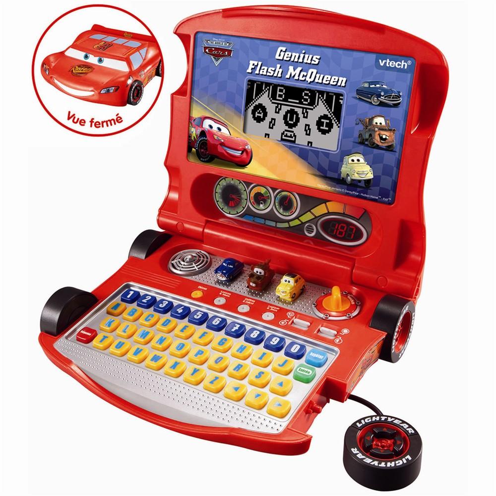 Vtech : Genius Flash Mcqueen (2008) Ordinateur Cars | Otakia tout Ordinateur Educatif Enfant
