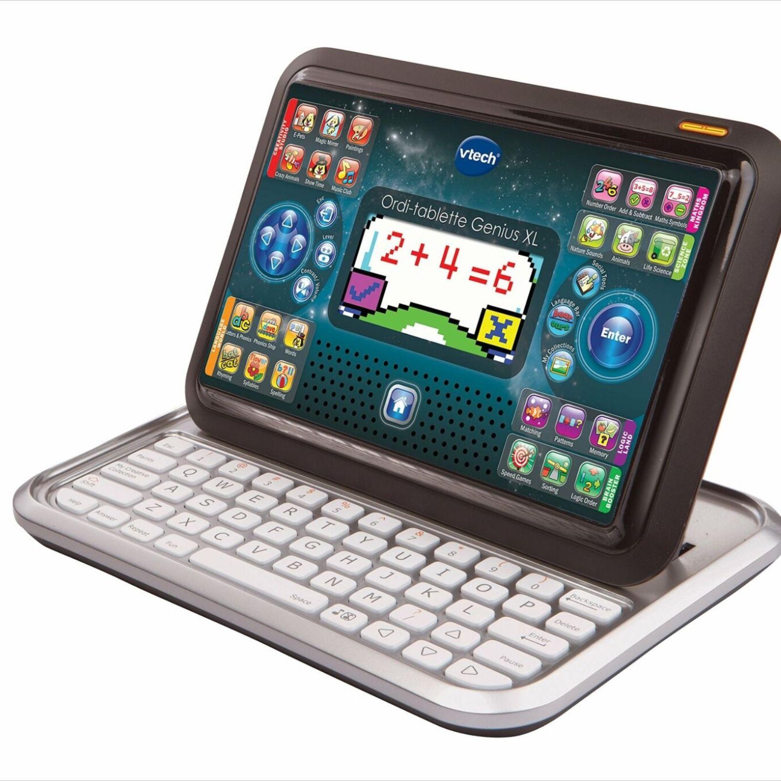 Vtech, Jouet, Jeux, Ordinateur, Tablette, Ordi-Tablette avec Jeux Ordinateur Enfant
