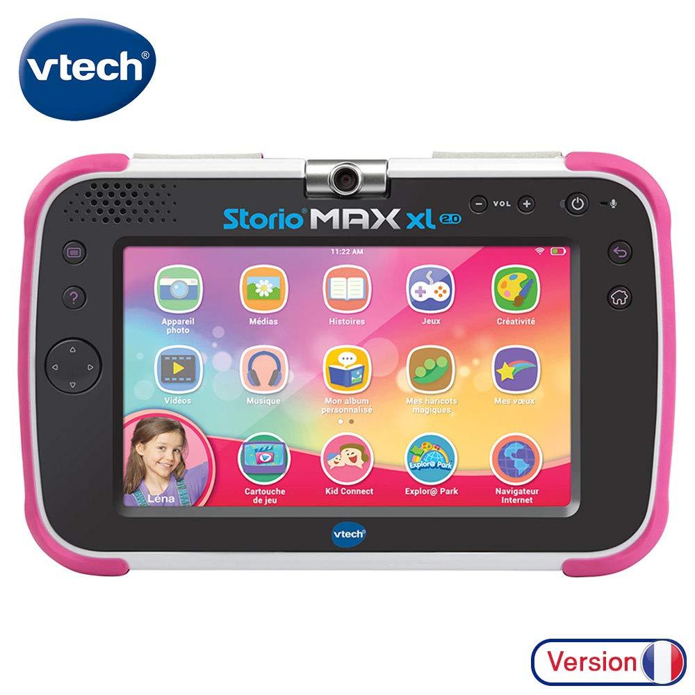 Vtech – Tablette Storio Max Xl 2.0 Rose – Tablette Enfant 7 dedans Tablette Enfant Fille