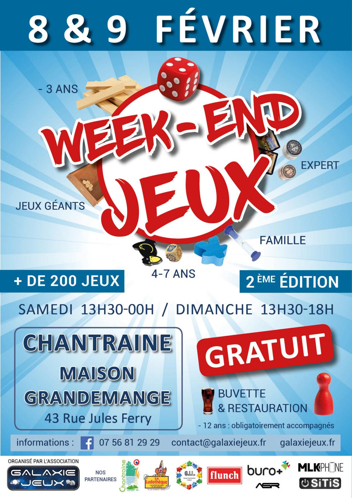 Week End Jeux : Jeu De Societe A Chantraine encequiconcerne Jeux 4 Ans Gratuit