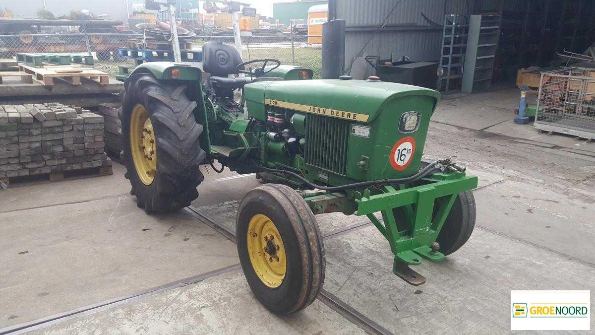 Wheel Tractor John Deere 1120 2Wd Traktor Tractor Tracteur - Truck1 Id:  4183231 encequiconcerne Image Tracteur John Deere