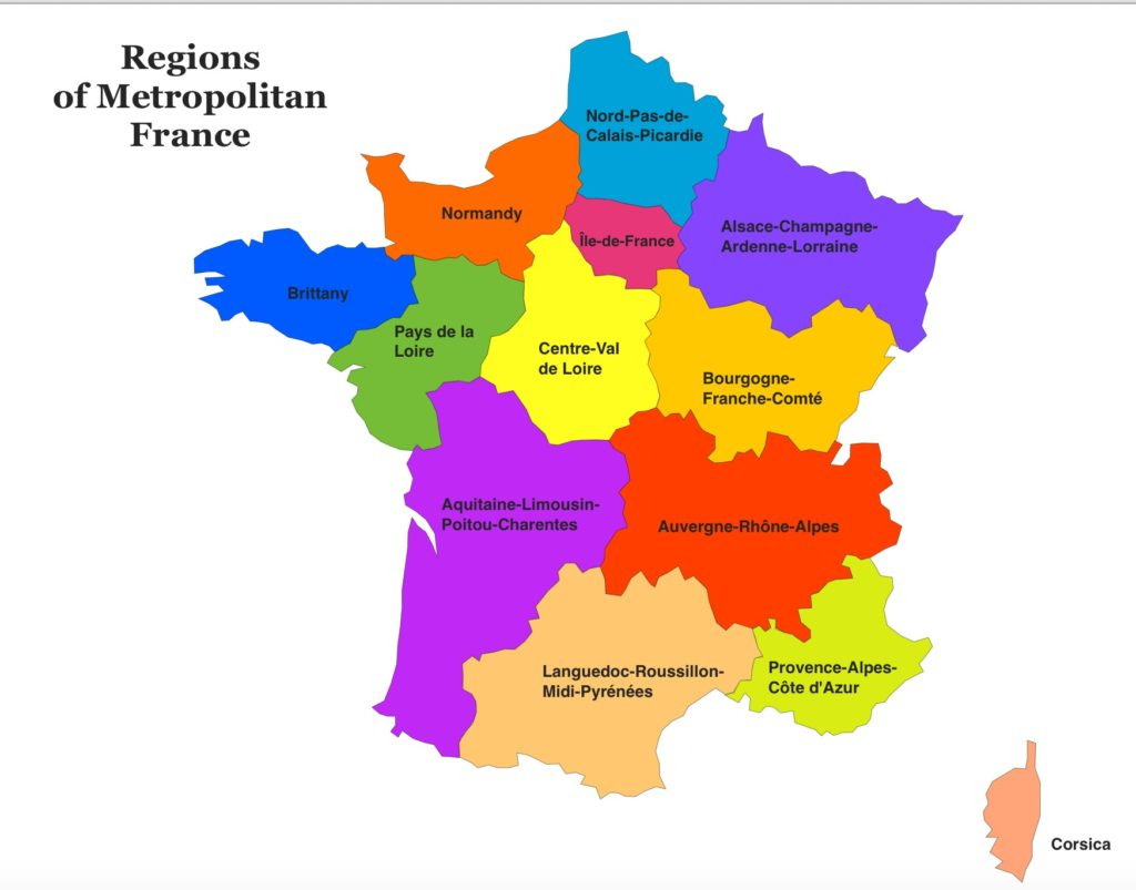 Where To Visit In France For Our 14 Days Diy Trip To Europe serapportantà 13 Régions Françaises