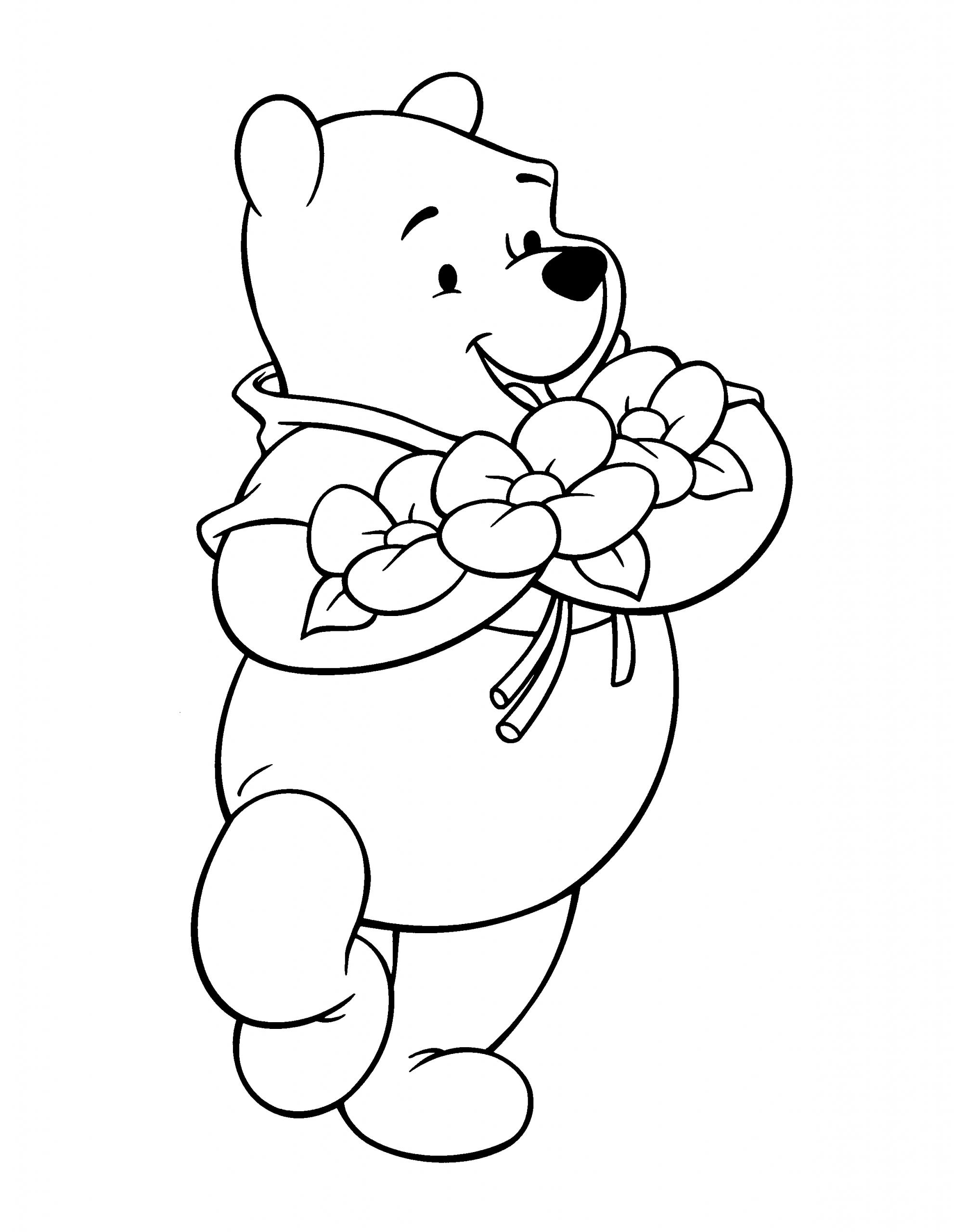 Winnie L'ourson #56 (Films D'animation) – Coloriages À Imprimer à Ourson A Colorier Et Imprimer