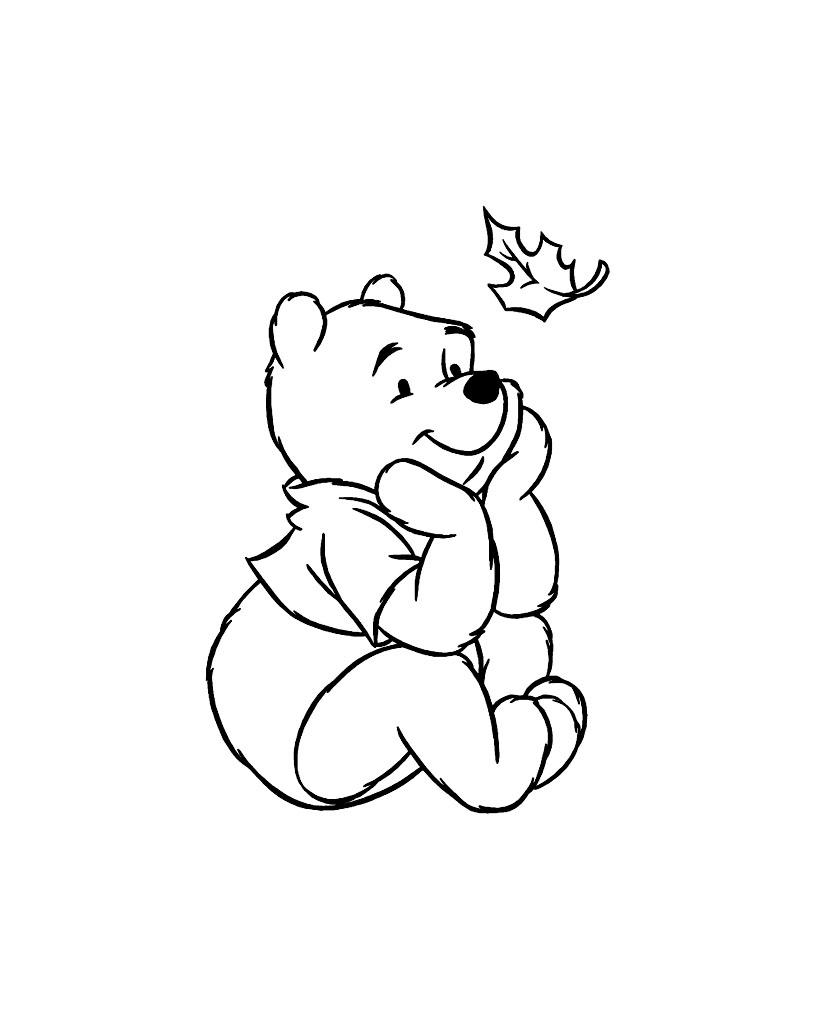 Winnie L'ourson #81 (Films D'animation) – Coloriages À Imprimer serapportantà Ourson A Colorier Et Imprimer