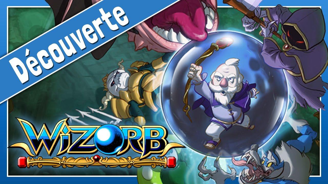 Wizorb - Un Casse-Brique Rétro Avec De La Magie | Gameplay destiné Jeux De Casse Brique Gratuit En Ligne