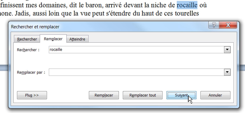 Word : Trouver Facilement Un Mot avec Chercher Les Mots