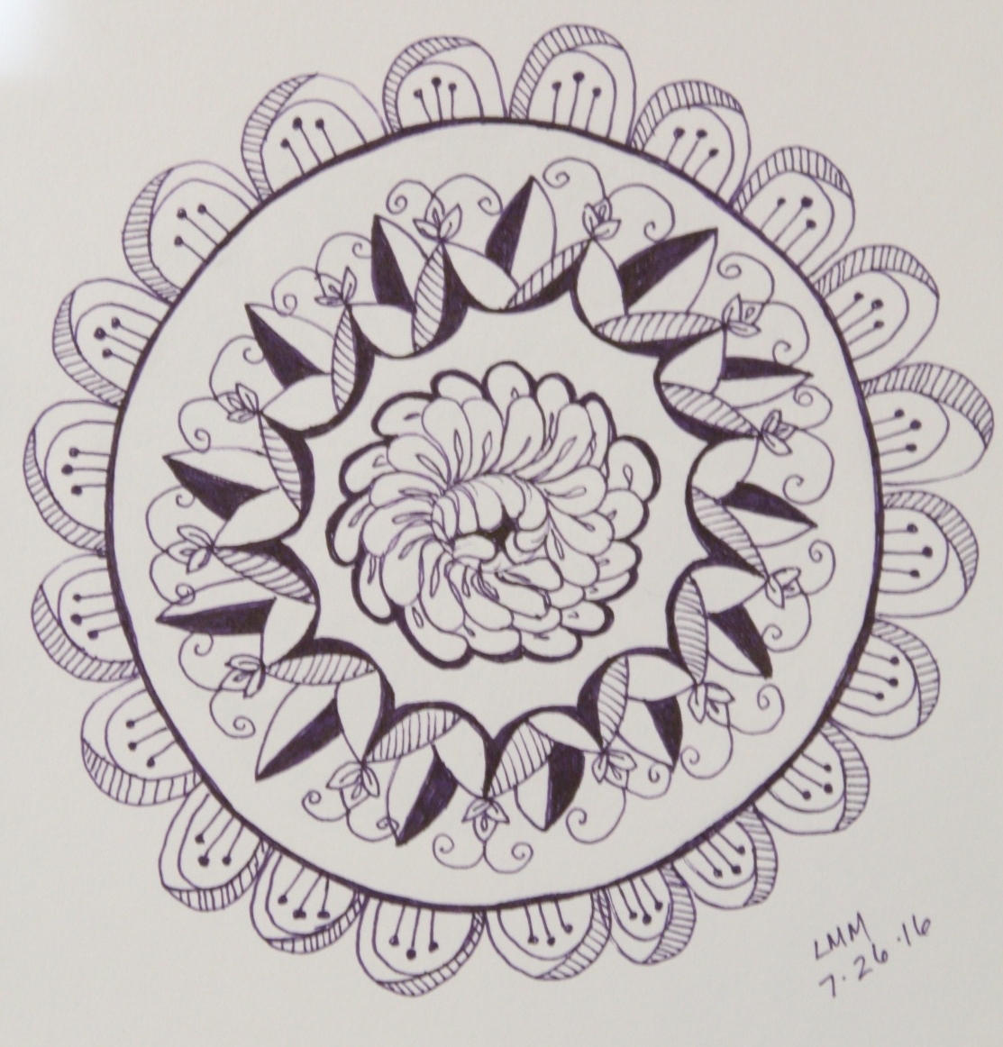Workshop: Drawing Mandalas As Meditation | Volcano Art Center destiné Mandala Fée