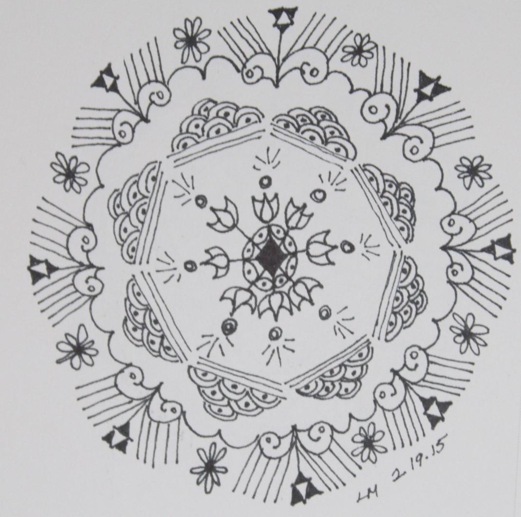 Workshop: Drawing Mandalas As Meditation | Volcano Art Center encequiconcerne Mandala Fée