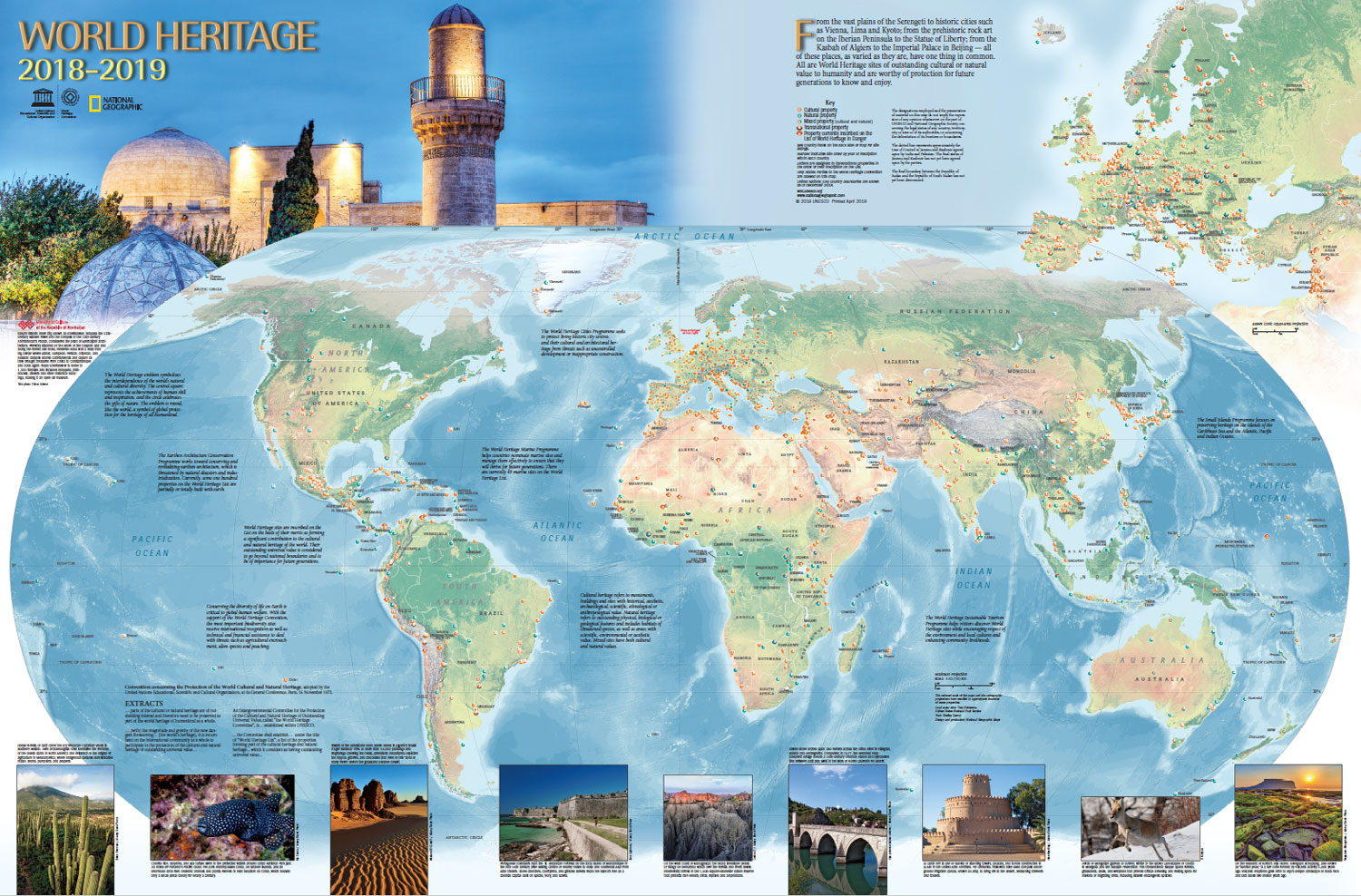 World Heritage Centre - World Heritage Map intérieur Carte De L Europe 2017