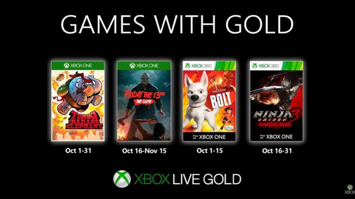 Xbox Live Gold : Les Jeux Gratuits Du Mois D'octobre 2019 tout Jeux Rigolos Gratuits