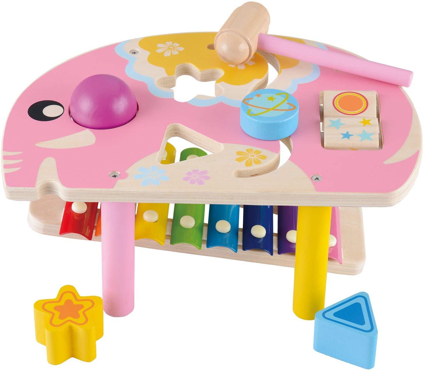 Xylophone & Éléphant À Marteau Montessori pour Jeux Educatif Petite Section