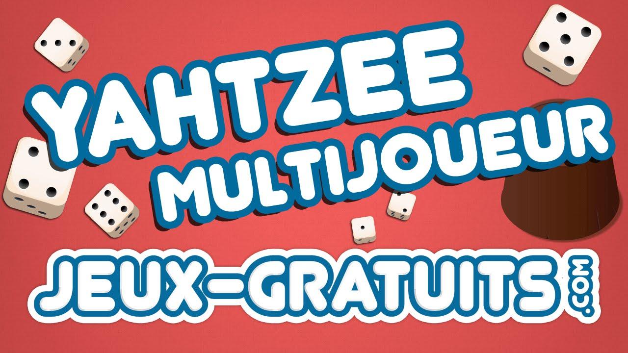 Yahtzee Multijoueur : Jeu Multijoueur Gratuit En Ligne Sur Jeux-Gratuits avec Jeux De Musique En Ligne
