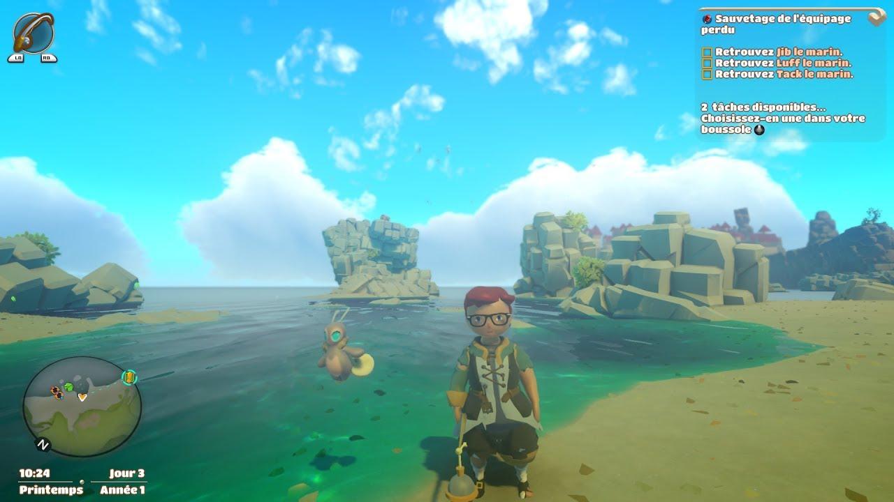 Yonder : The Cloud Catcher Chronicles - Suite Et Fin Du Jeu pour Jeux 3 À La Suite