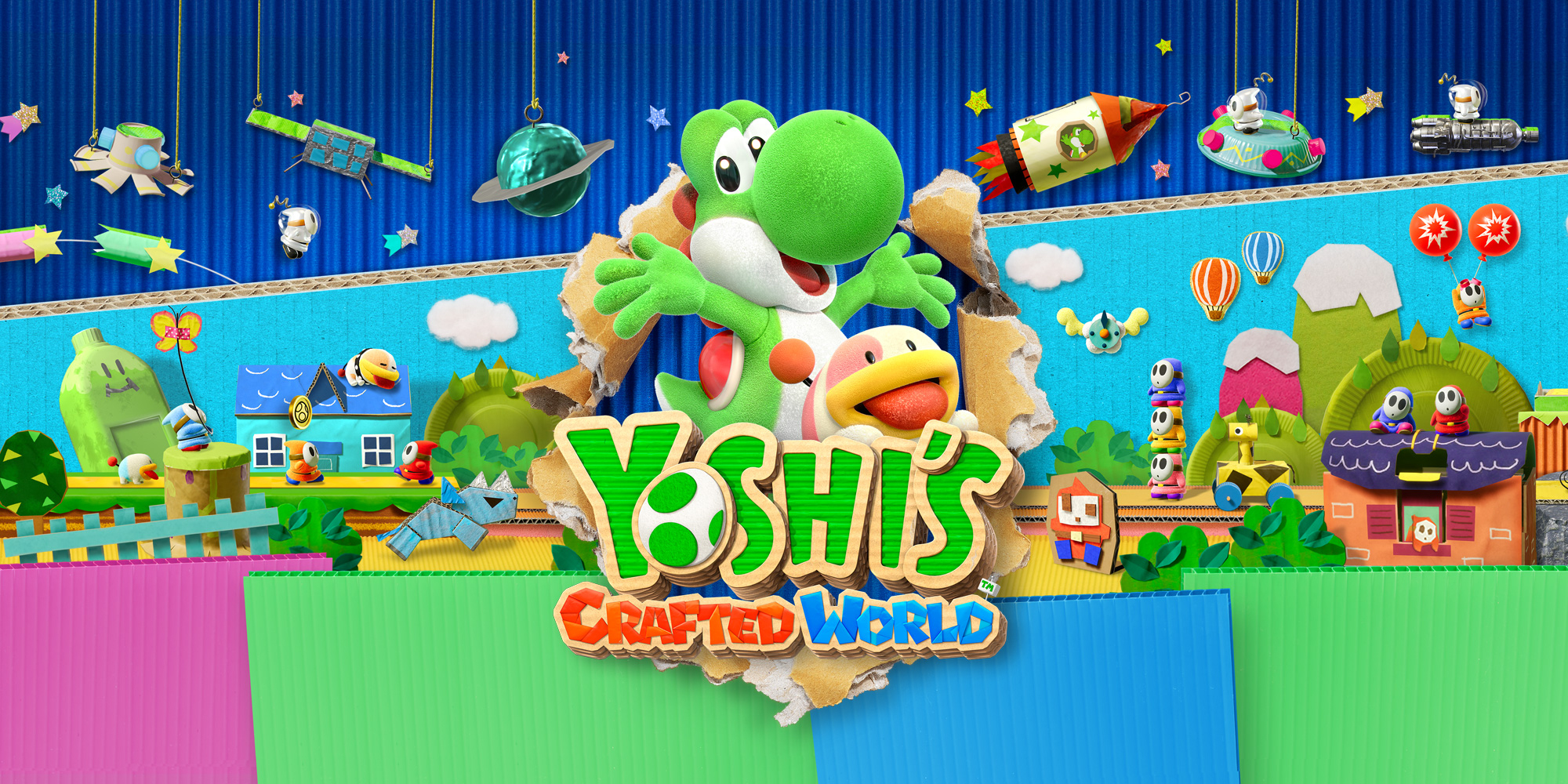 Yoshi's Crafted World | Nintendo Switch | Jeux | Nintendo serapportantà Jeux De Squelette Gratuit