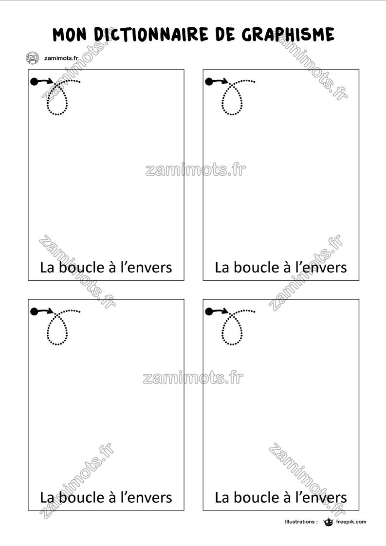 Zamimots - Tout Pour Apprendre Et S'amuser. à Graphisme Gs A Imprimer