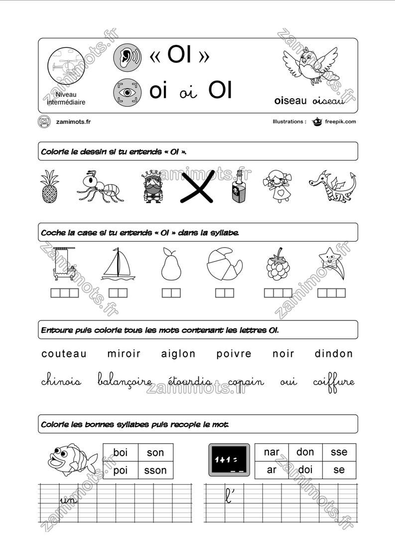Zamimots - Tout Pour Apprendre Et S'amuser. pour Exercice Graphisme Cp
