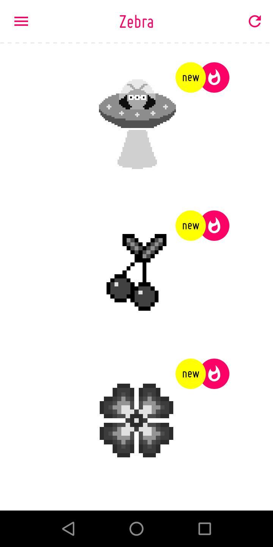Zèbre - Jeux De Coloriage Avec Numero Pixel Pour Android pour Jeu De Coloriage Pixel
