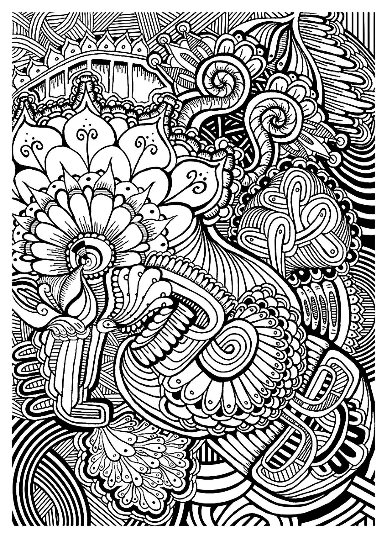 Zen Anti Stress Relax A Imprimer - Anti-Stress & Art intérieur Image Zen A Imprimer