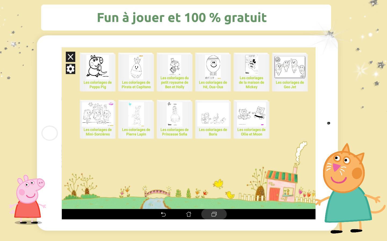 Zouzous Coloriage For Android - Apk Download concernant Puzzle Gratuit Pour Fille De 3 Ans