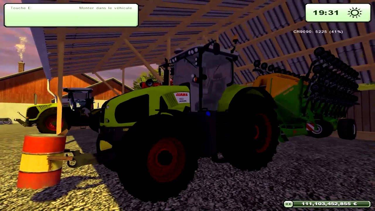 1 Présentation De Ma Ferme Avec Plein De Mods Sur Farming serapportantà Jeux Gratuit Tracteur A La Ferme