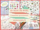 10 Activités De Noël À Imprimer Gratuitement Pour Amuser Vos concernant Activité De Noel Maternelle