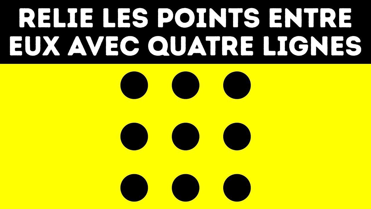 10 Énigmes Qui Vont T'Embrouiller Le Cerveau concernant Jeu Relier Les Points En Ligne