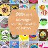 100 (Et +) Activités Manuelles Avec Des Assiettes En Carton à Activité Manuelle Pour Petit
