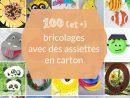 100 (Et +) Activités Manuelles Avec Des Assiettes En Carton tout Activité Manuelle Enfant 3 Ans