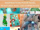 14 Peintures De Noël À Base D'empreintes |La Cour Des Petits concernant Activité Manuelle Noel 3 Ans