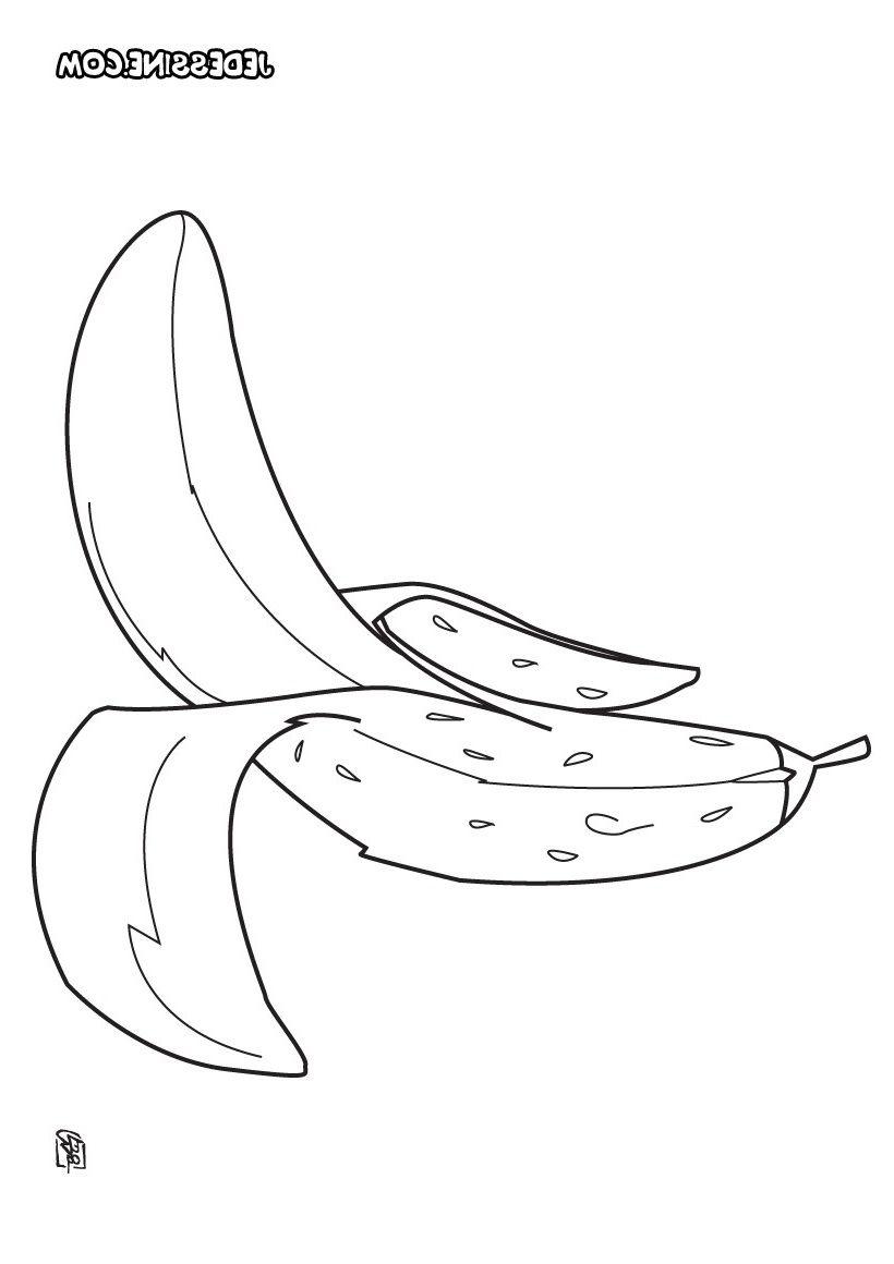14 Petite Banane Coloriage Image (Avec Images) | Coloriage intérieur Dessiner Une Banane