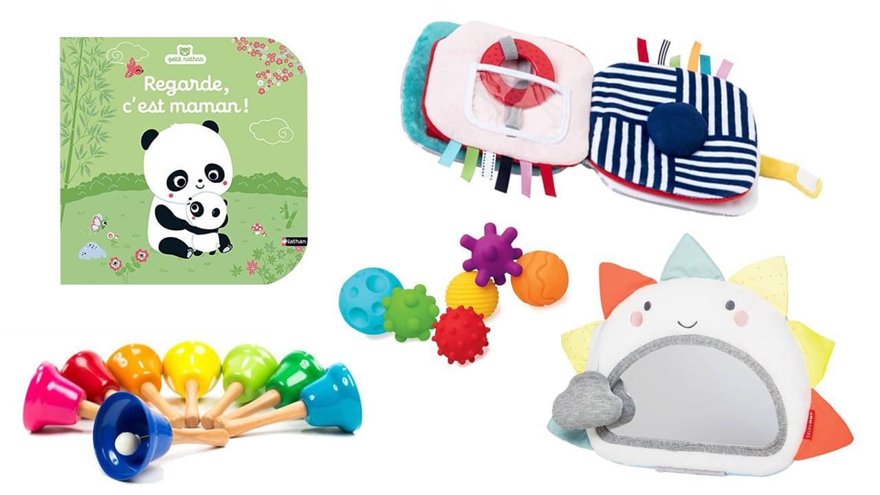 15 Idées De Cadeaux De Noël Pour Les Bébés De 0 À 12 Mois pour Jeux De Bébé Virtuel