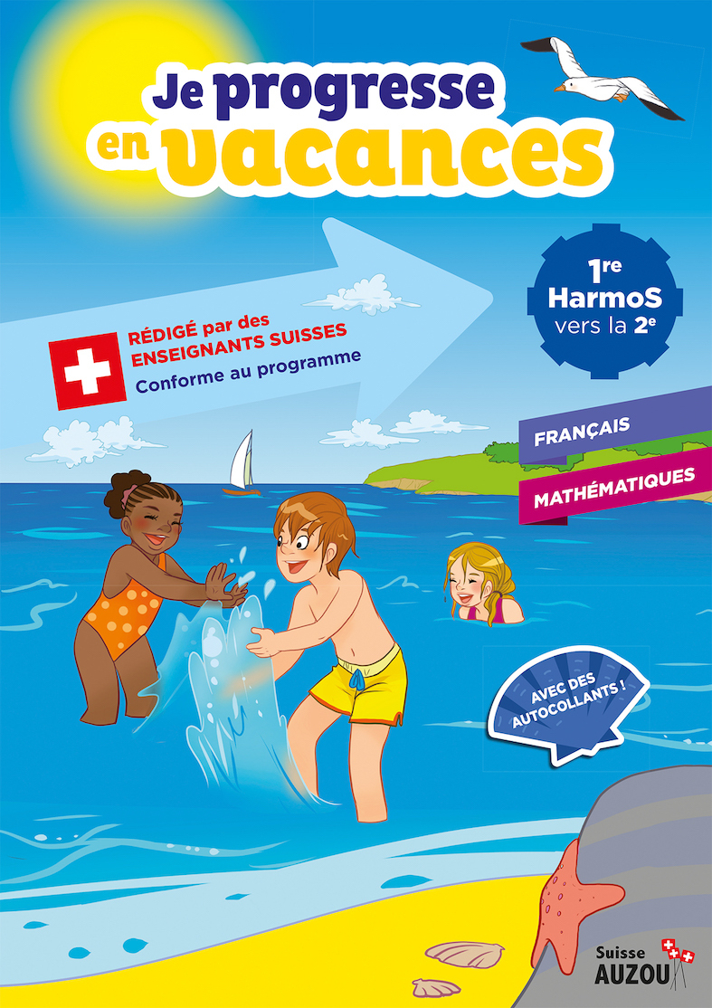 1Ère Harmos - Cahier De Vacances - Français Et Maths à Cahier De Vacances 1Ere S