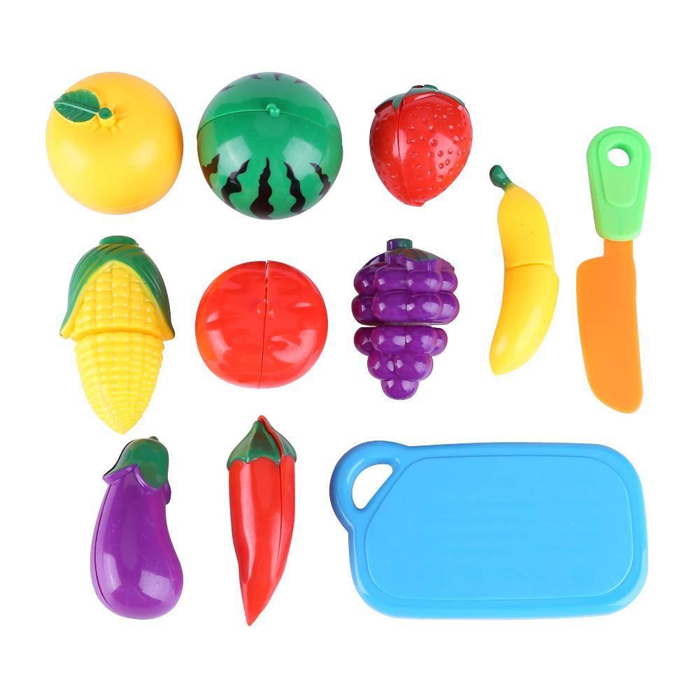 1Set Bricolage Jeu Fruit Coupe Gâteau Cuisine Aliments Jouets Alimre  Fruits Coupe Légumes Toy Filles Cadeau D'Anniversaire Pour Enfants destiné Jeux De Fruit Et Legume Coupé