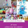 20 Bricolages De Pâques (Pour Petits Et Grands) |La Cour Des tout Activité Manuelle Facile Faire