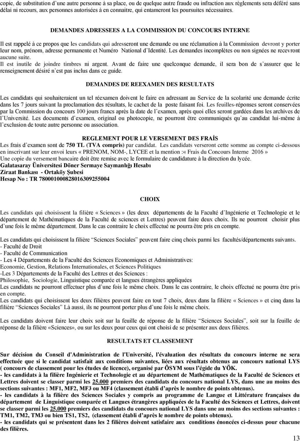 2016 Öğrenci Seçme Ve Yerleştirme Sinav Kilavuzu - Pdf Free avec Les Numéros Des Départements