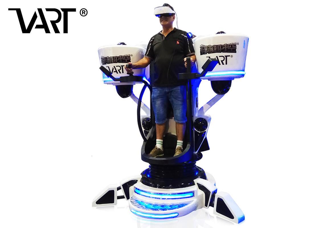 2*2.1M 3Dof Flight Simulator Avec Des Jeux De Tir Pour Le Parc D'attractions intérieur Jeux De Tir 2