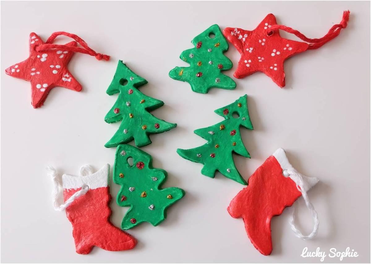 24 Activités Créatives De Noël Avec Les Enfants Diy - Lucky tout Activité Manuelle Noel 3 Ans